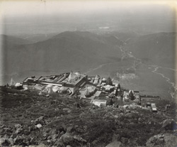 Birds' eye view of Jain Temples, Girnar [Junagadh]